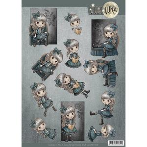 CD11039 - 3D knipvel - Lilly Luna - Sofa