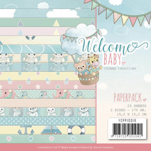 YCPP10018 - Paperpack - Yvonne Creations - Welcome Baby