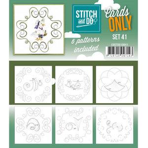 Stitch & Do - Cards Only - Set 41
