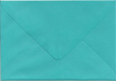 Enveloppen C6(114x162mm) 10 stuks Hemelsblauw (120gr.)