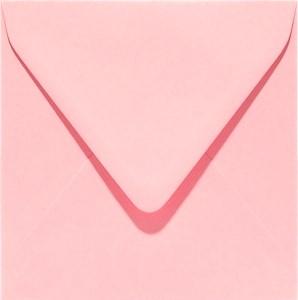 Enveloppen vierkant 14x14 10 stuks Roze (120gr.)