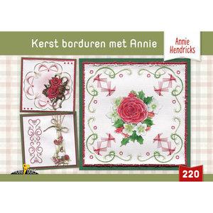 Hobbydols 220 Kerst borduren met Annie - Annie Hendricks