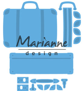 LR0542 - Marianne Design - Creatables - Suitcase - 4pcs - 50x43mm