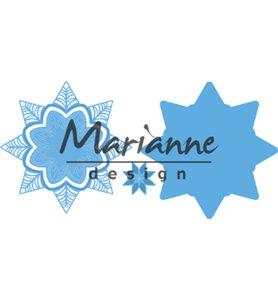 LR0540 - Marianne Design - Creatables - Petra's botanical star -133x133mm