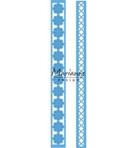LR0537 - Marianne Design - Creatables - Anja's long border - 17x180mm