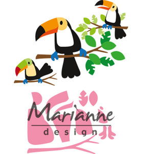 COL1457 - Marianne Design - Collectables - Eline's toucan - 83x73mm