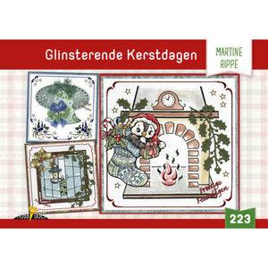 Hobbydols 223 Glinsterende Kerstdagen - Martine Rippe