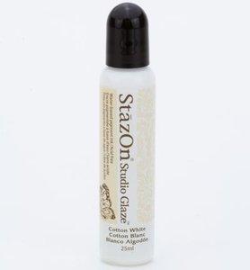 SZ-STG-110 - Stazon Studio Glaze - Cotton White - 25ml