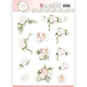 SB10285 - 3D Pushout - Precious Marieke - Flowers in Pastels - Believe in Pink