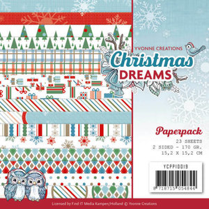 YCPP10019 - Paperpack - Yvonne Creations - Christmas Dreams