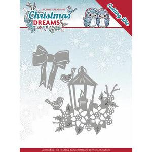 YCD10145 - Dies - Yvonne Creations - Christmas Dreams - Christmas Lantern