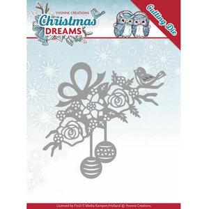 YCD10146 - Dies - Yvonne Creations - Christmas Dreams - Bauble Ornament