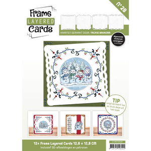 Frame Layered Cards 28 - 4K