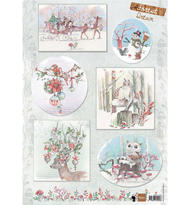 EWK1263 - Marianne Design - Knipvel - Els Forest Dream 2