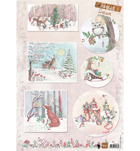 EWK1262 - Marianne Design - Knipvel - Els Forest Dream 1