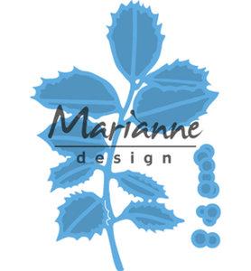 LR0549 - Marianne Design - Creatables - Tiny's Holly - 44x63mm