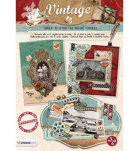 STANSBLOKSL59 - Studiolight - Stansblok - Vintage nr.59 - 12 sheets - A4 - 120grs