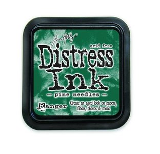 Ranger Distress Inks pad - pine needles stamp pad TIM21476 Tim Holtz