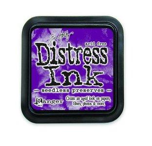 Ranger Distress Inks pad - seedless preserves TIM32847 Tim Holtz