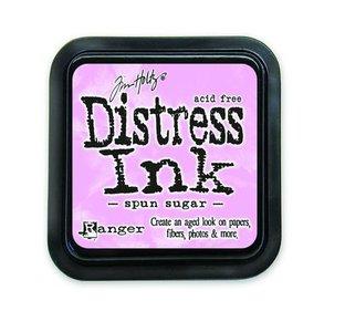 Ranger Distress Inks pad - spun sugar stamp pad TIM27164 Tim Holtz