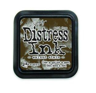 Ranger Distress Inks pad - walnut stain stamp pad TIM19534 Tim Holtz