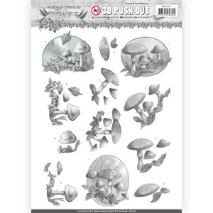 SB10316 – 3D Pushout - Amy Design - Words of Sympathy - Sympathy Forest