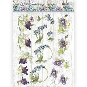 CD11188 – 3D knipvel - Precious Marieke - Winter Flowers – Orchids