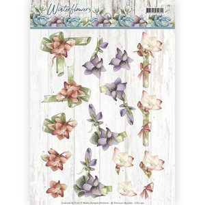CD11190 – 3D knipvel - Precious Marieke - Winter Flowers – Amaryllis