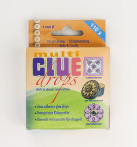 Multi Glue Dots – 4mm – 110pcs