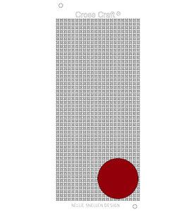 Nellie Snellen – CrossCraft stickers – Mirror red