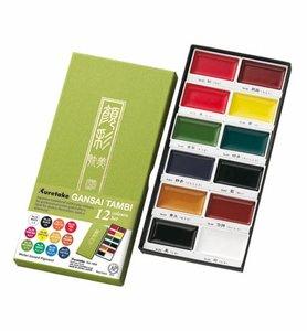 Gansai Tambi Set 12 Colours