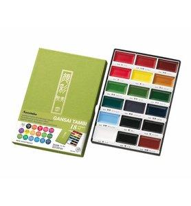 Gansai Tambi Set 18 Colours