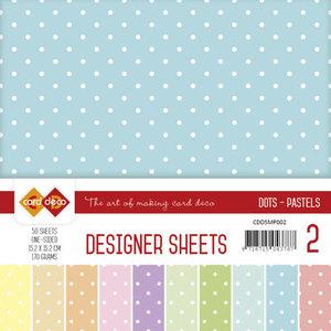 CDDSMP002 Designer Sheets Mega Pack 2 Pastels