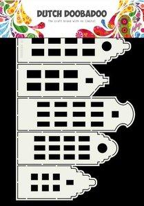 Dutch Doobadoo Dutch Card Art kaArt grachtenpanden A4 470.713.696