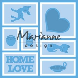 Marianne D Creatable Layout LR0568 13,2x13,2 cm