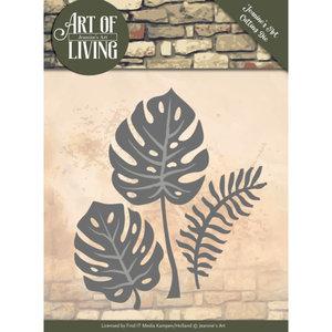 JAD10055 Dies - Jeanine's Art - Art of Living - Leaves
