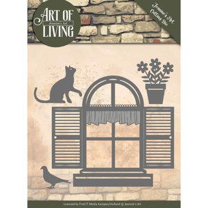 JAD10054 Dies - Jeanine's Art - Art of Living - Home Sweet Home