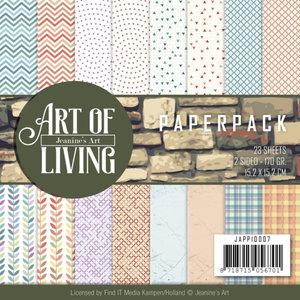 JAPP10007 Paperpack - Jeanine's Art - Art of Living -