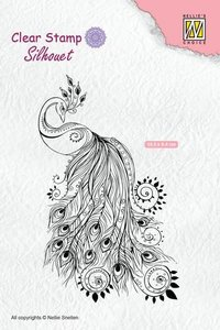 Nellie's Choice Silhouette Clear Stamps pauw SIL044 105x64mm