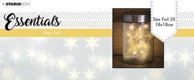 Studio Light Star folie 18x18 cm 5vl FOILSL01