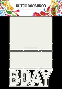 Dutch Doobadoo Dutch Card Art B-day  A4 470.713.698