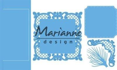 Marianne D Creatable Anja's vertical folding die (vierkant) LR0571 151 mmx111 mm