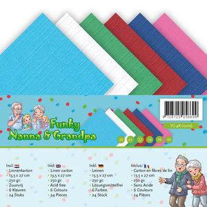 YC-A5-10016 Linnenpakket - A5 - Yvonne Creations - Funky Nanna's