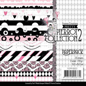 YCPP10021 Paperpack - Yvonne Creations- Pretty Pierrot 2