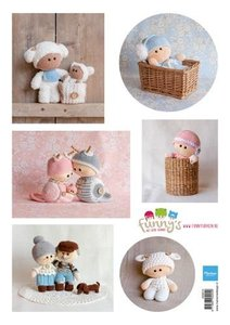 Marianne Design Decoupage Ilse's Funny's - Baby VK9574 A4