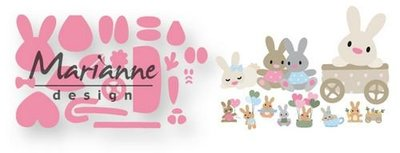 Marianne Design Collectable Eline's baby konijntje COL1463 15x21 cm
