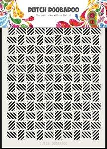 Dutch Doobadoo Dutch Mask Art stripe pattern los A5 470.715.134