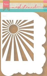 Marianne D stencils wolken & zonnestralen PS8024 149x210mm