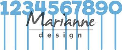 Marianne D Creatable Pins cijfers LR0582 79x79,5mm
