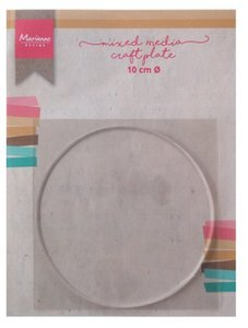 Marianne D Tools MM craft plate cirkel 10 cm LR0016